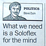 Steve Duin article March 17, 1992